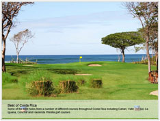 Costa Rican Golf Courses