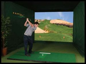 Golf Simulator System Rentals Play Golf Indoors